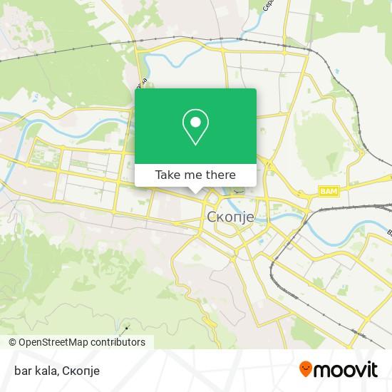 bar kala map