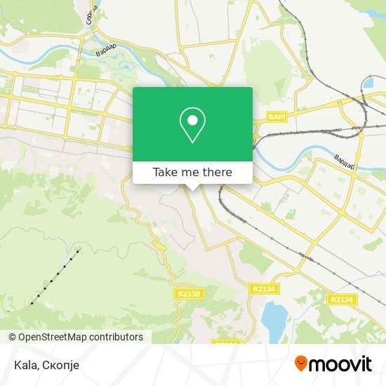 Kala map