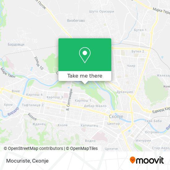 Mocuriste map