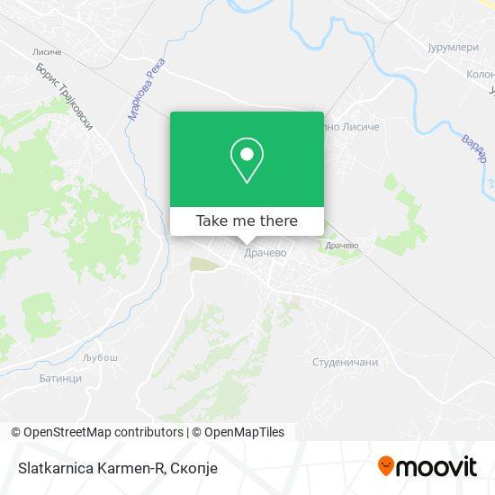 Slatkarnica Karmen-R map