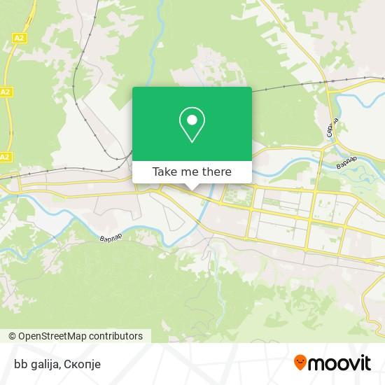 bb galija map