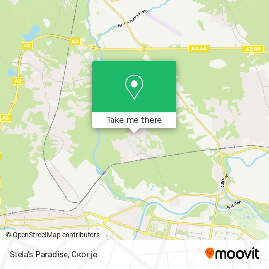 Stela's Paradise map