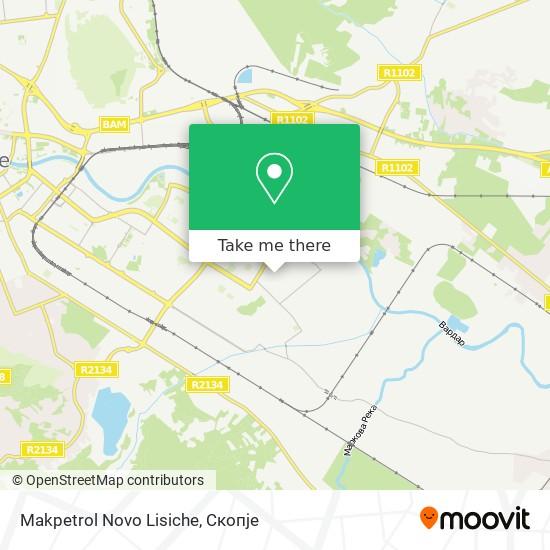 Makpetrol Novo Lisiche map