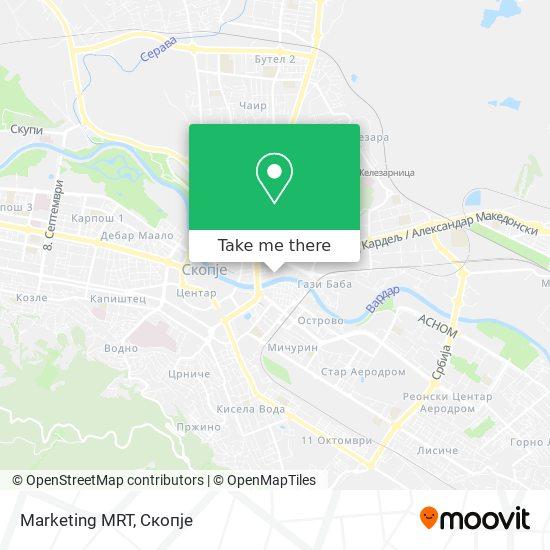 Marketing MRT map