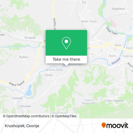Krushopek map