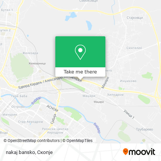 nakaj bansko map