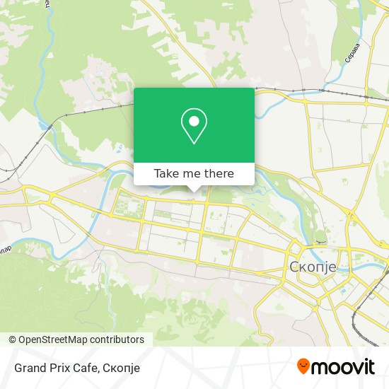 Grand Prix Cafe map