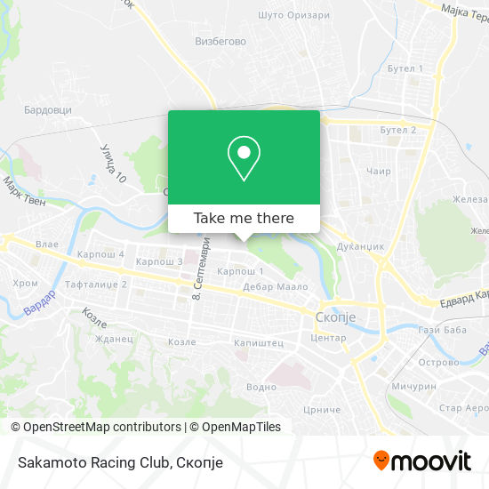 Sakamoto Racing Club map