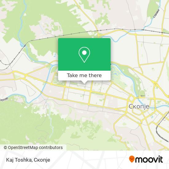 Kaj Toshka map