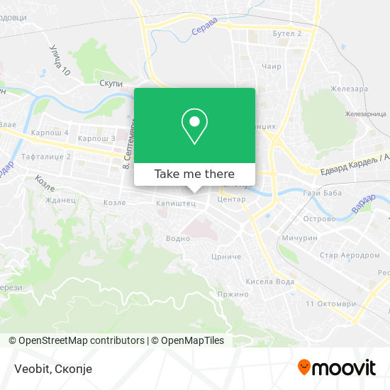 Veobit map