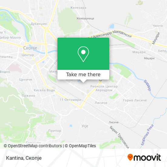 Kantina map