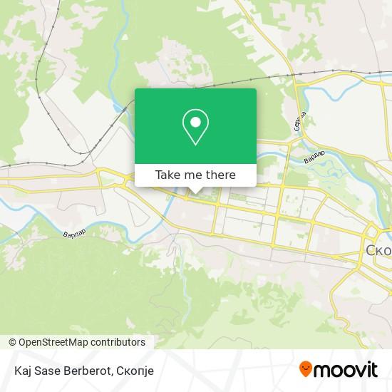 Kaj Sase Berberot map