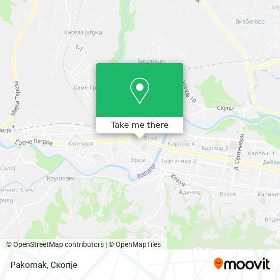 Pakomak map