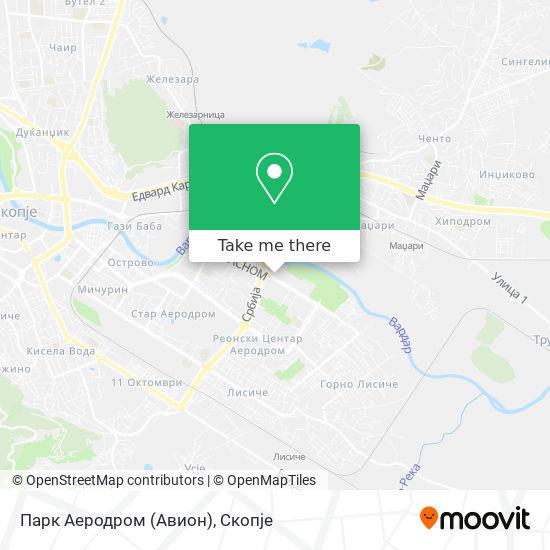 Парк Аеродром (Авион) map