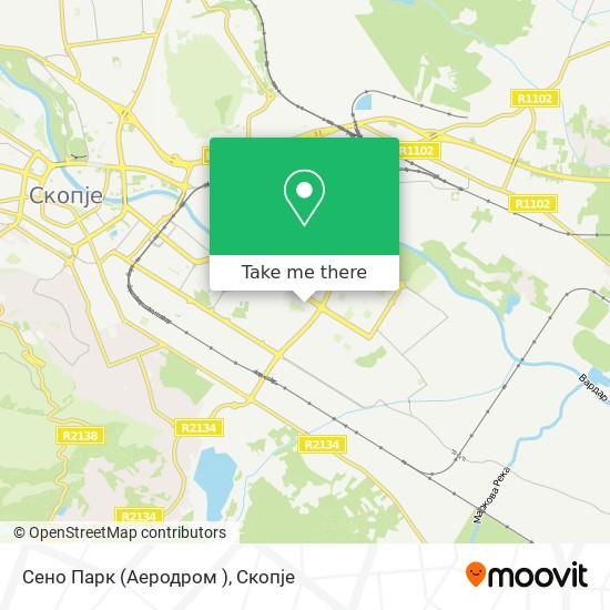Сено Парк (Аеродром ) map