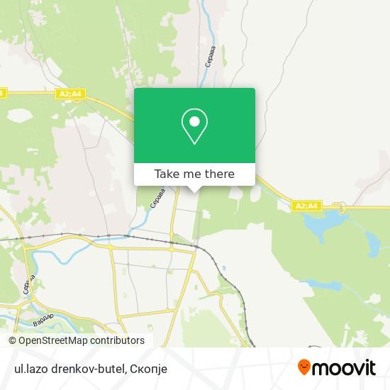 ul.lazo drenkov-butel map