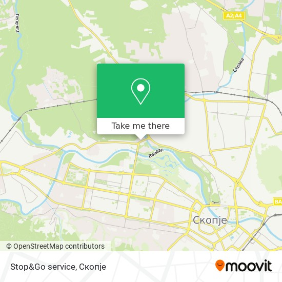 Stop&Go service map