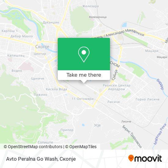Avto Peralna Go Wash map