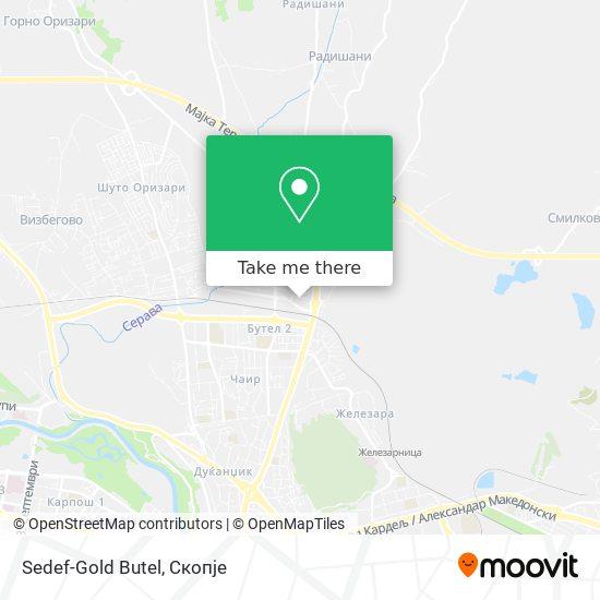 Sedef-Gold Butel map