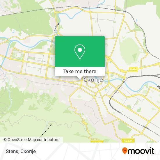 Stens map