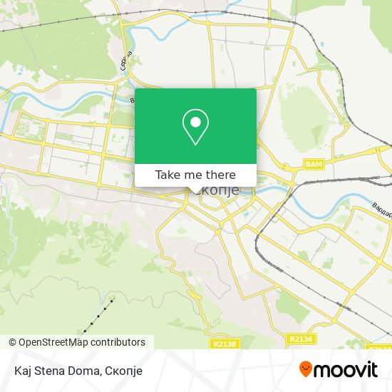 Kaj Stena Doma map