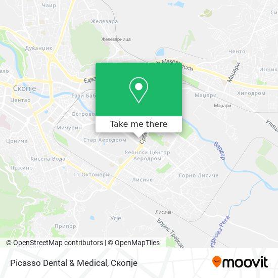 Picasso Dental & Medical map