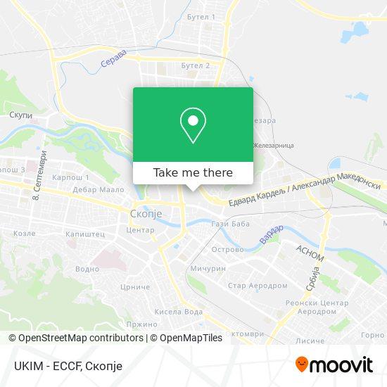 UKIM - ECCF map