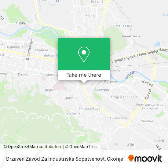 Drzaven Zavod Za Industriska Sopstvenost map