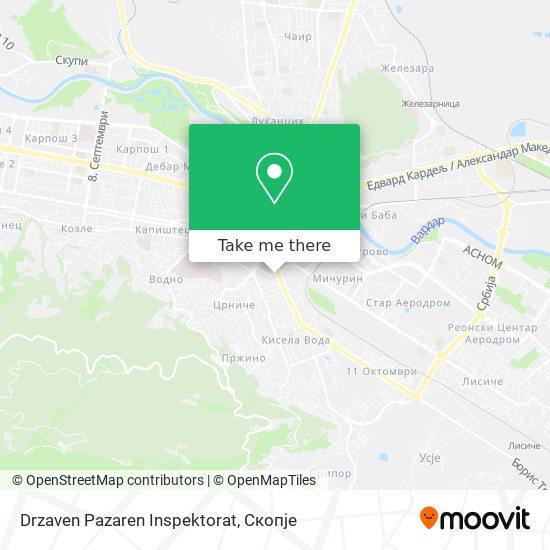 Drzaven Pazaren Inspektorat map