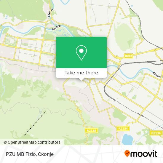 PZU MB Fizio map