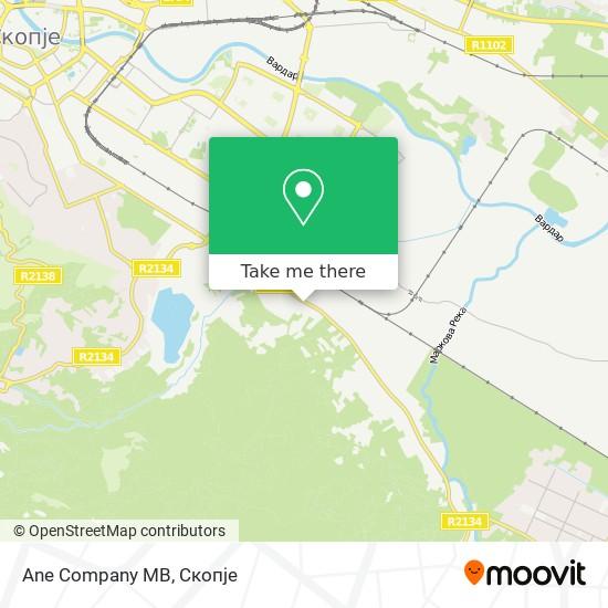 Ane Company MB map