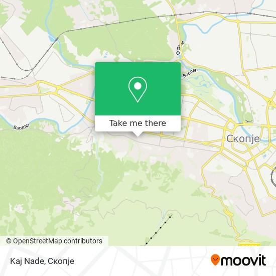 Kaj Nade map
