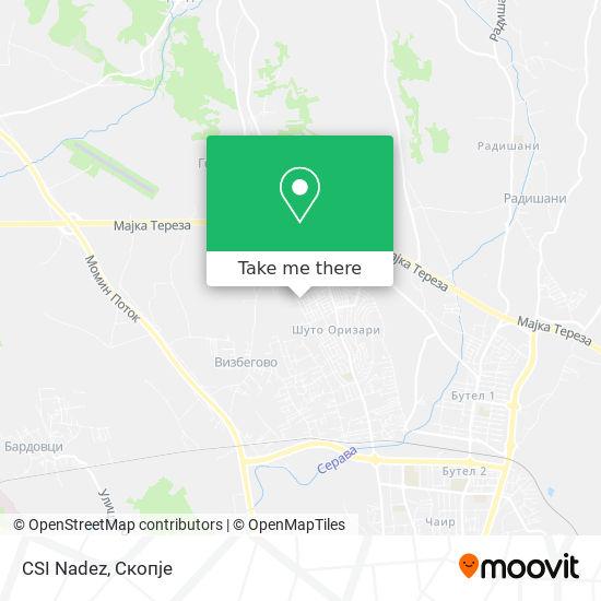 CSI Nadez map