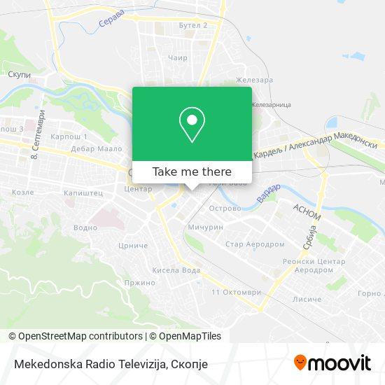 Mekedonska Radio Televizija map