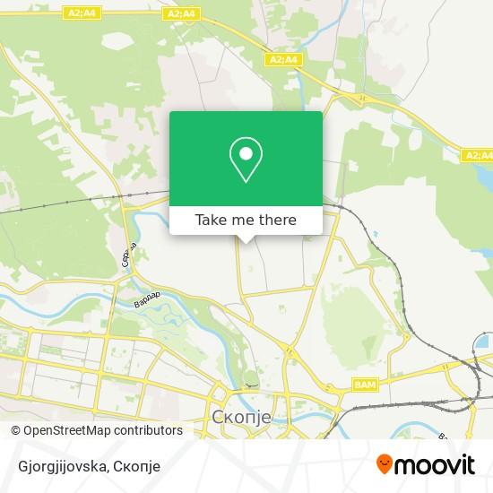 Gjorgjijovska map