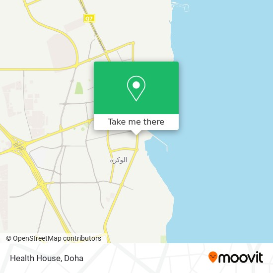 Health House map