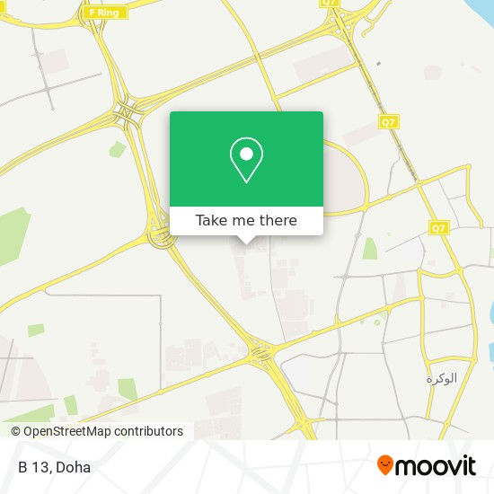 B 13 map