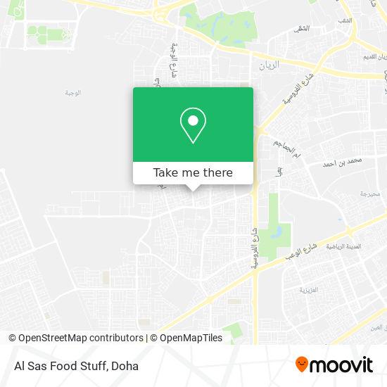 Al Sas Food Stuff map