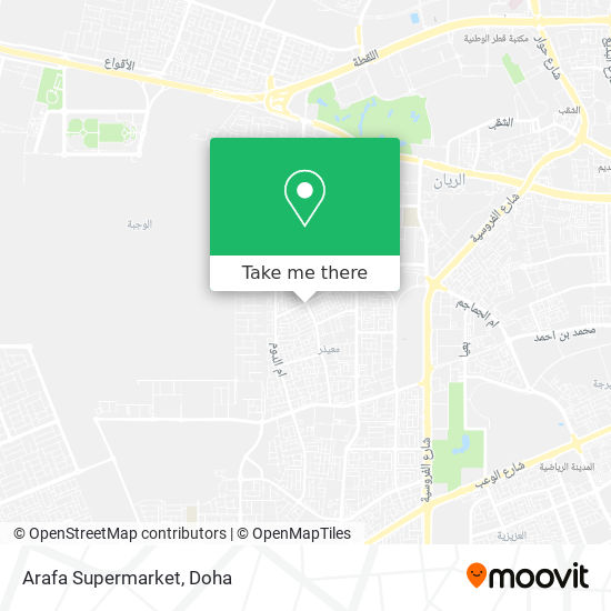 Arafa Supermarket map