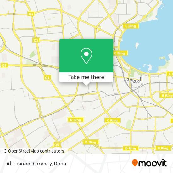 Al Thareeq Grocery map