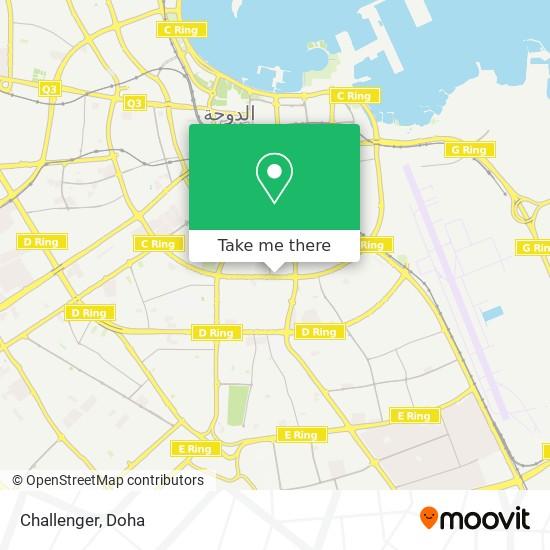 Challenger map