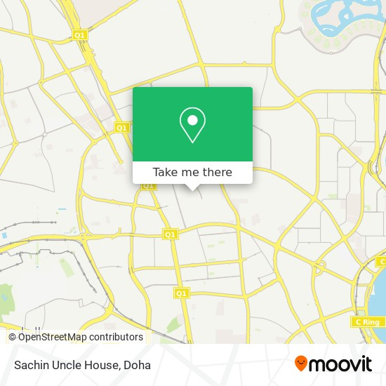 Sachin Uncle House map