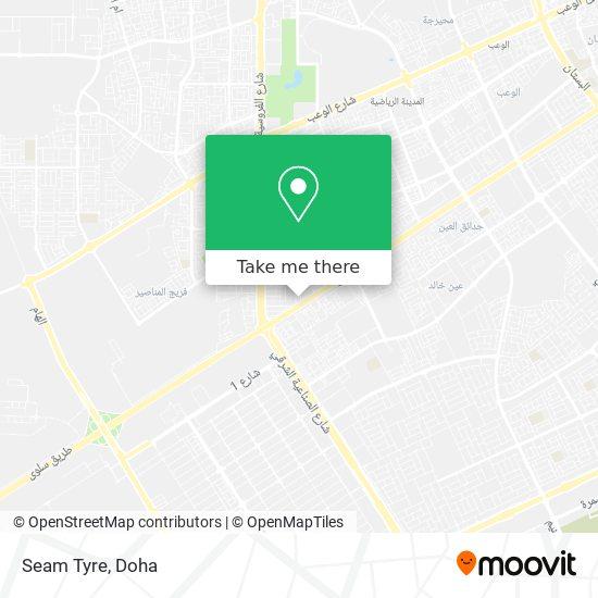 Seam Tyre map