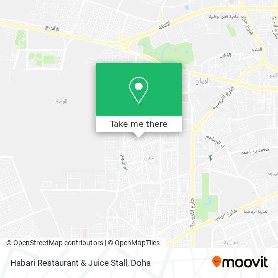 Habari Restaurant & Juice Stall map