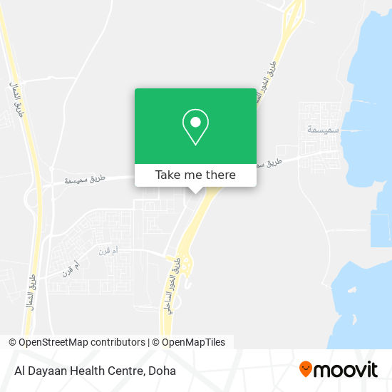 Al Dayaan Health Centre map