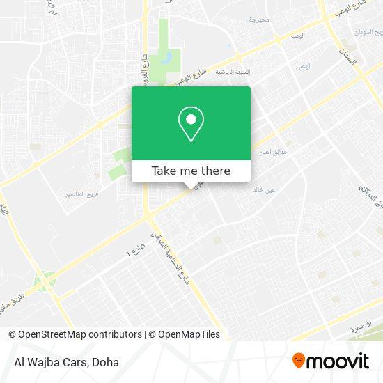 Al Wajba Cars map