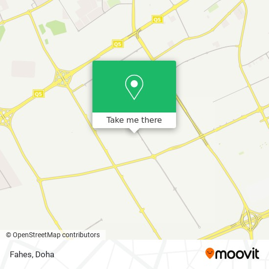 Fahes map