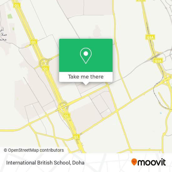 International British School map