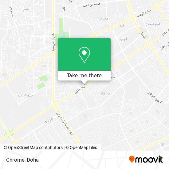 Chrome map
