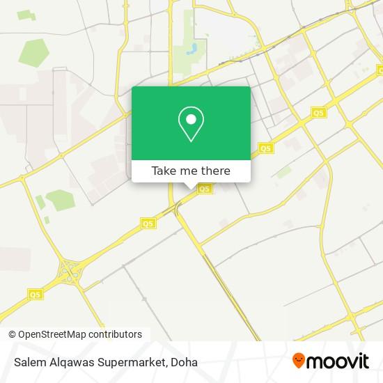 Salem Alqawas Supermarket map